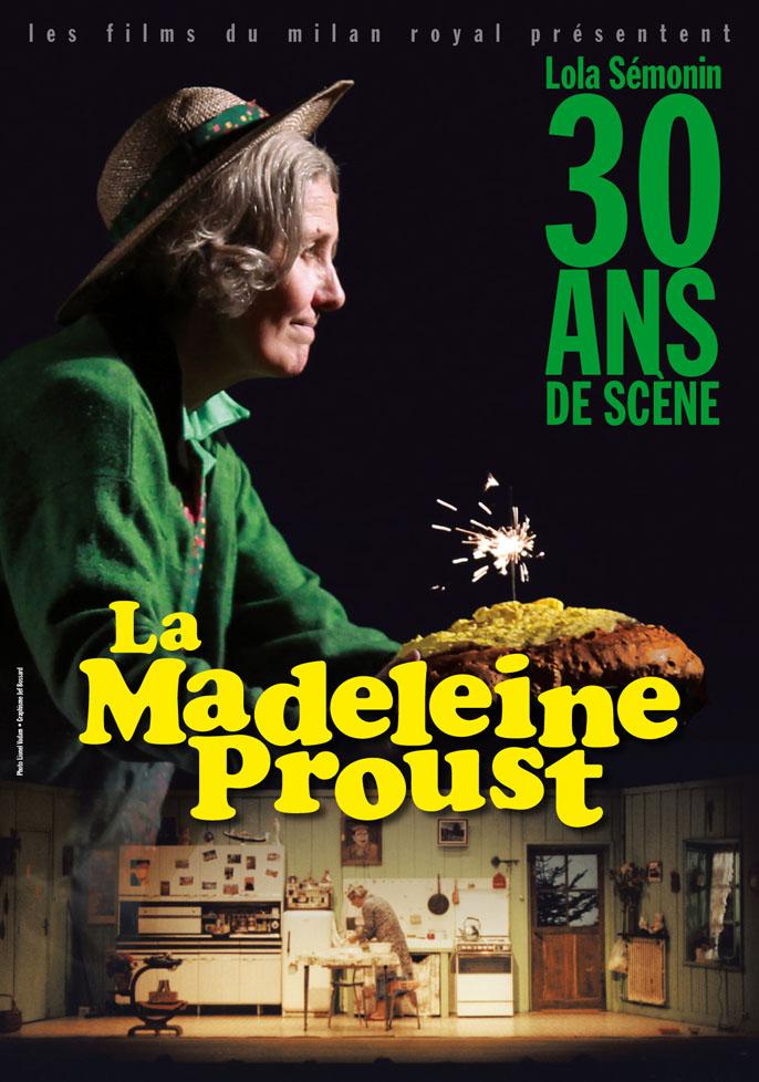 Affiche Madeleine Proust